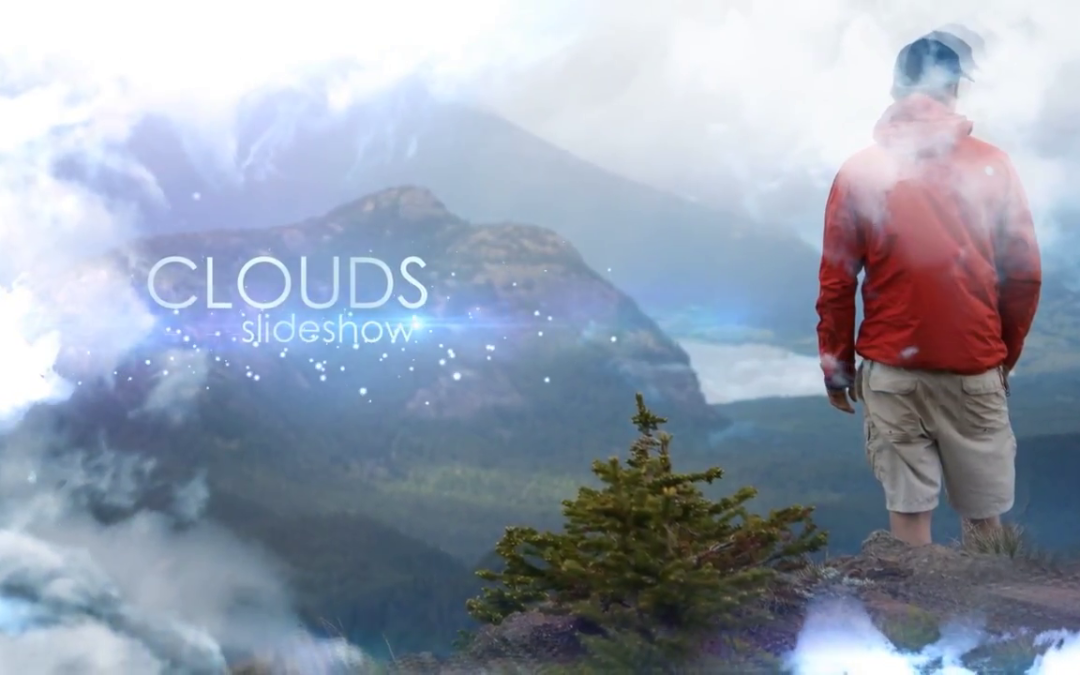 Clouds Slideshow After Effects Template Free - Free After Effects