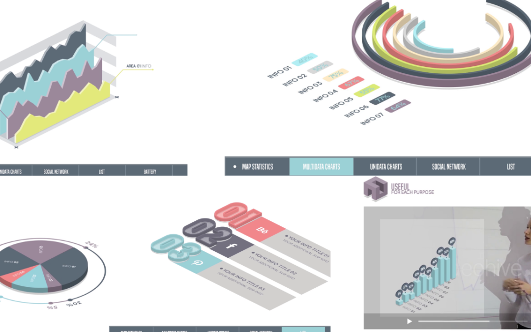 Premiere Pro Infographics Bundle Free