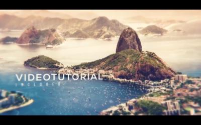 Premiere Pro Slideshow Template free |Cinematic Parallax Modern Slideshow
