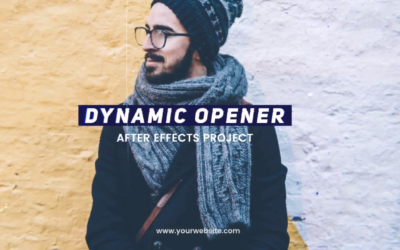 Dynamic Opener After Effects Template Free