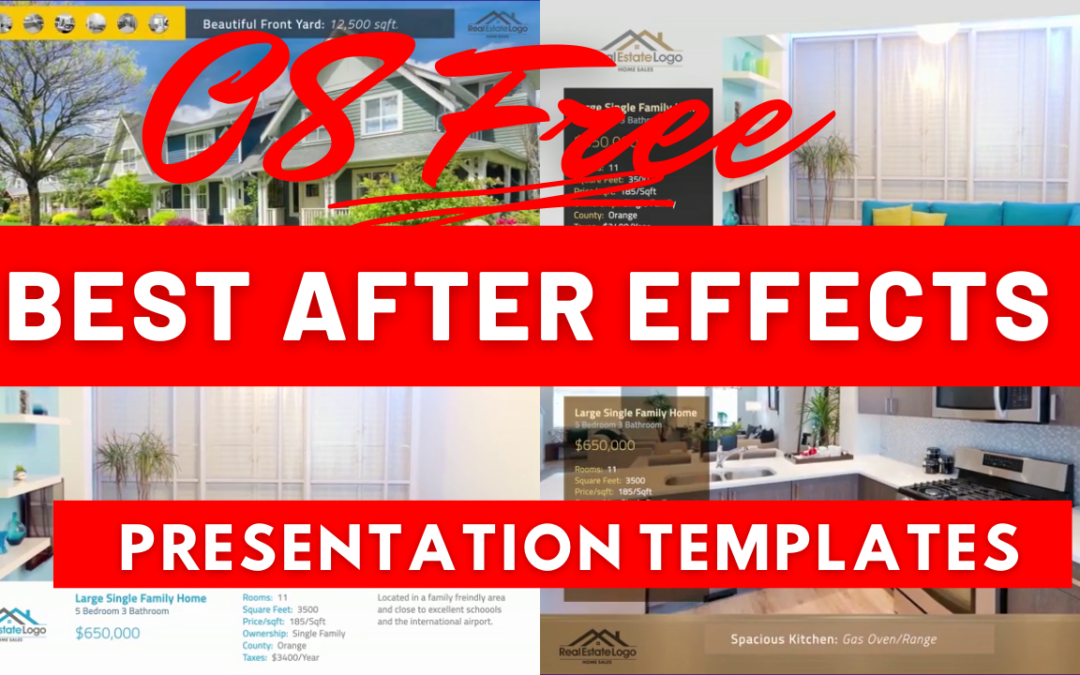 08 Best After Effects Presentation Templates Free